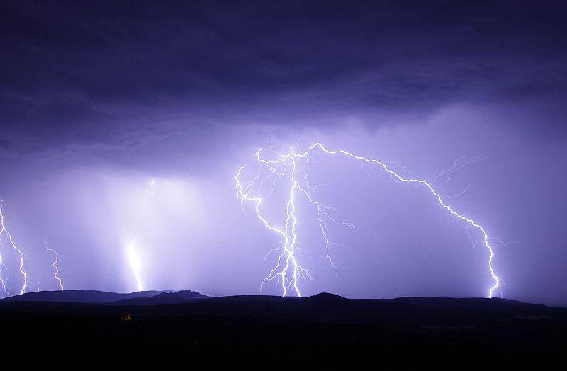 Blitze Unwetter